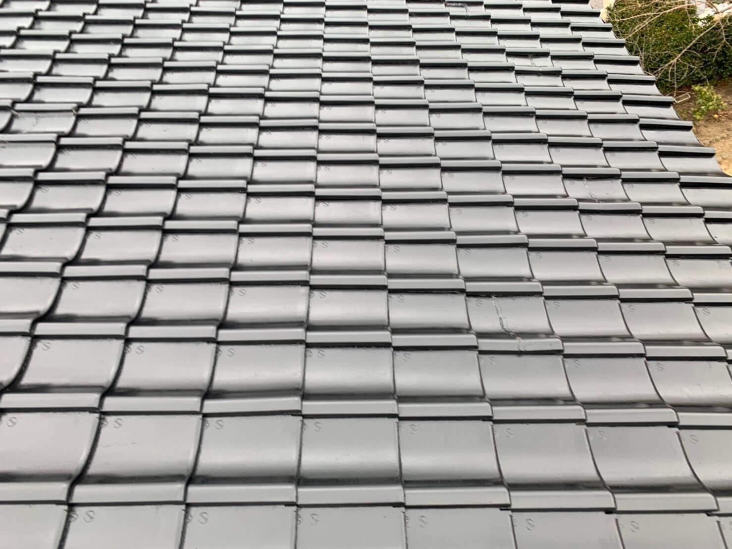 S様邸屋根塗装実績
